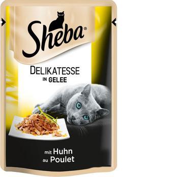 Корм для котів Sheba Black&Gold з куркою в желе, 85 г
