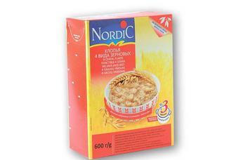 Пластiвцi 4 злака NordiC 600 г