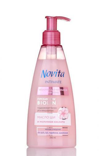 Молочко для iнтимної гігієни Novita INTIMATE 250 мл