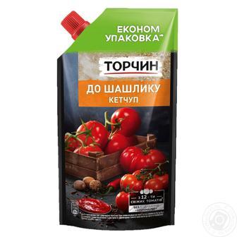 Кетчуп Лагідний/Чилі/До шашлику Торчин 400г