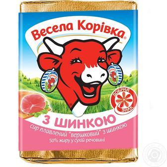 Сир плавлений Весела Корівка 90 г