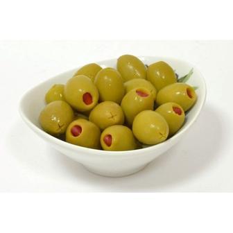 ed68a8ea990341 Скидка 15% ▷ Оливки зелені з паприкою 300 мл Helcom ▷ Minus50.Net