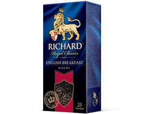 Чай чорний «English Breakfast», Richard, 25пак
