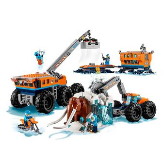 Конструктор LEGO City Arctic Передвижная научно-исследовательская станция (60195)