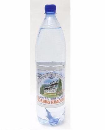 Вода газована мінеральна   Поляна Квасова, 1,5 л