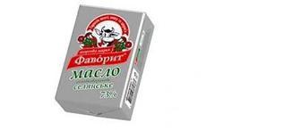 Масло Селянське солодковершкове 73%, Фаворит, 200 г