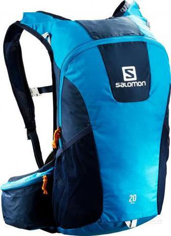 Рюкзак Salomon Trail 20 л блакитний із синіми вставками L39748500