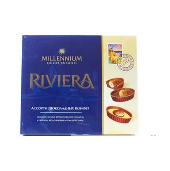 Цукерки шоколадні Millennium Riviera 250г