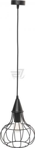 Підвіс Vitaluce 1x60 Вт E27 чорний V4180-1/1S