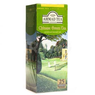 Чай китайский зеленый Ahmad Tea 25х1,8г