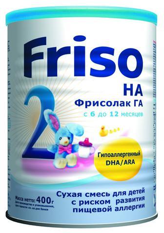 Скидка 25% ▷ Молочная смесь сухая молочная Friso 400 г