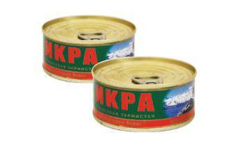 Скидка 32% ▷ Ікра червона лососева Камчатський Берег 100 г