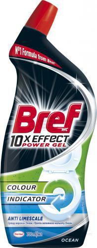Засіб для туалету Bref Power 10 в 1 против известково налета 0,7 л