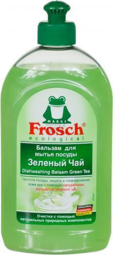 Бальзам для ручного миття посуду Frosch Зелений чай 0,5л