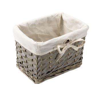 Кошик плетений SEVERIN 22х16х15см сірий