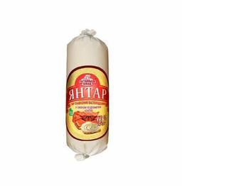 Сир плавлений Янтар, зі смаком крабів, Полтавський смак,