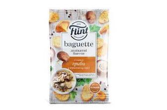 Сухарики Флинт (Flint) багет гриби у ніжному соусі 60