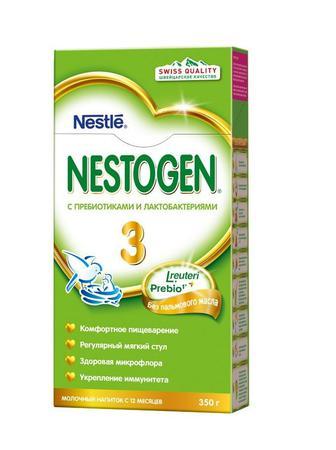 Смесь молочная Nestle Nestogen-3 (с 12 месяцев) 350 г