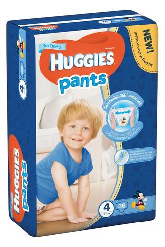 Трусики-подгузники Huggies Pants для мальчиков 3,4,5р 34/ 36/44 шт