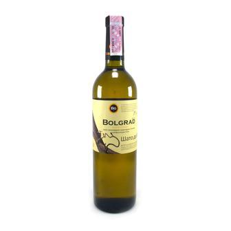 Вино біле напівсолодке  Шато Де Вин BOLGRAD 0.75 л