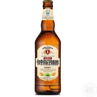 Пиво Нефильтрованное Бочкове 0,5 л