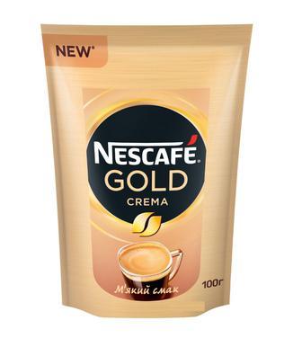 Кава розчинна Голд Крема Нескафе 100г