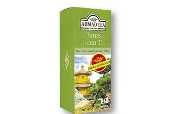 Чай зелений китайський, байховий Ahmad Tea 25 х 1,8 г