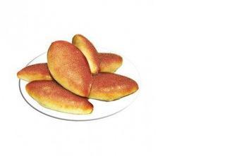 Пирожки постные с вишней 5шт, КЛАСС, 50г