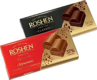Шоколад пористий   ROSHEN  85 г