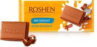 Шоколад молочний 90г Рошен