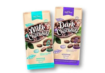 Шоколад молочний/ чорний «Своя Лінія» - 85 г