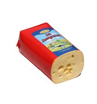 Сир Швейцарський 45% Влощов 1 кг