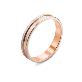 Обручальное кольцо с алмазной гранью. Артикул 10160/1