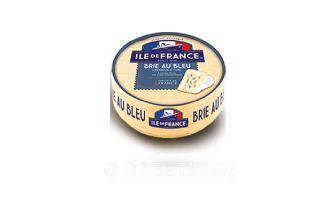 Сыр Бри с синей плесенью мягкий Иль де Франс 125 г