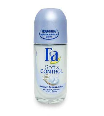 Роликовий антиперспірант Fa Soft & Control Ніжний аромат лілії 50мл