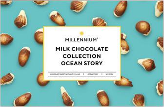 ЦУКЕРКИ Ocean Story, 170 г MILLENNIUM