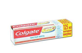 Зубна паста Total 12, Чиста М'ята Colgate 125 мл