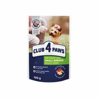 Корм CLUB 4 PAWS Преміум корм для малих порід собак 400г