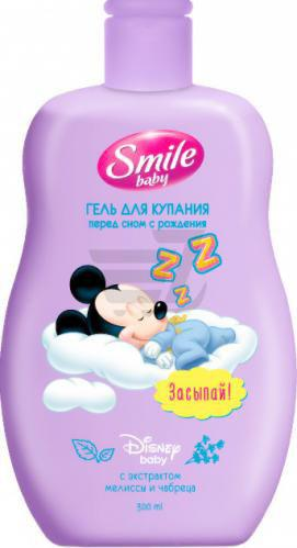 Дитяча пінка Smile Baby для волосся і тіла 300 мл