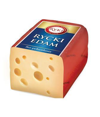 Сир 45% Рамзес або Рицький Едам Рікі 1 кг