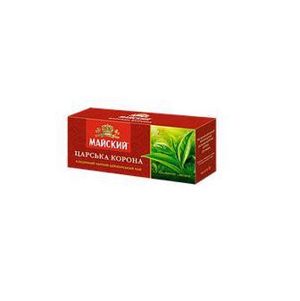 Чай черный Царская корона Майский 25 пак.*2г