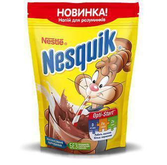 Напій швидкорозчинний з какао Nesquik Nestle 140г