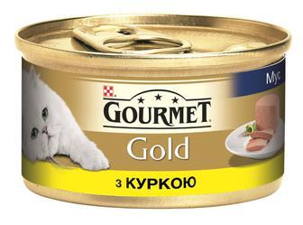 Корм Гурман Gold курка, 85 г