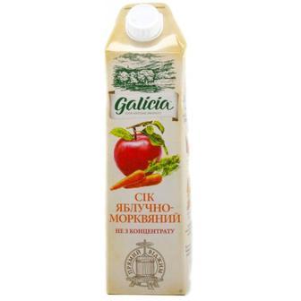 Сік яблучно-морквяний Galicia 1л