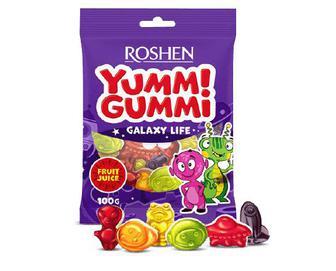 Цукерки Roshen Yummi Gummi Galaxy Life желейні, 100г