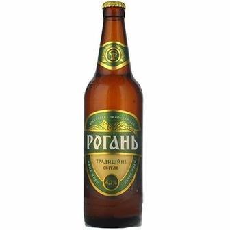 Пиво світле Традиційне Рогань 0.5л