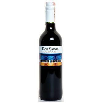 Вино Дон Сімон Каберне Совіньон червоне сухе/Шардоне сухе біле 0,75л