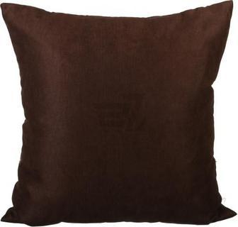 Подушка декоративна Велмарт 45x45 см темно-коричневий