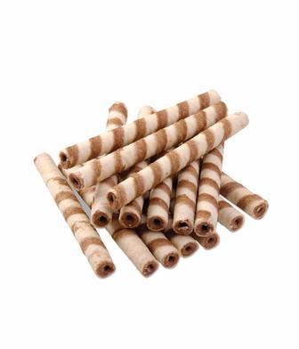 Трубочки вафельні з какао або молоком ХБФ 1 кг
