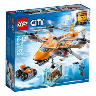 Конструктор LEGO City Arctic Авиатранспорт (60193)